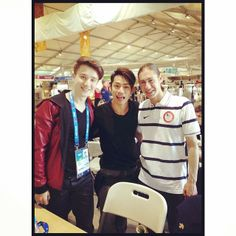 Super Trio from Sochi :-D