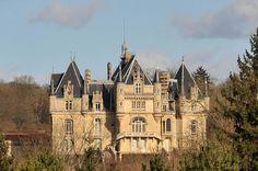 Château de Dampont à Us, Val-d'Oise, France