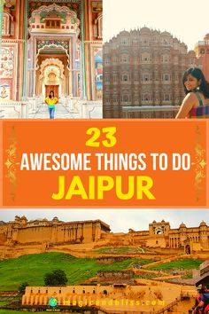 Plan your weekend itinerary with these 23 awesome things to do in Jaipur India. Explore Rajasthan Culture in the streets of the Pink City in India. Check out the blog for complete travel guide to Jaipur. Things to do, places to visit, things to eat, go shopping for Rajasthani art and jewellery, the best spots for your instagram shots and much more. Plan your trip to Jaipur soon. | Rajasthan Tourism | India Travel | Off The Beaten Track | #rajasthan #jaipur #india Jaipur Travel, Bali Travel, India Travel, Jaipur India, Delhi India, Best Places To Travel, Places To Visit, Amazing Destinations, Travel Destinations