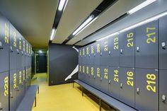 design gym clothes lockers