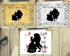 Beauty and the Beast Belle Personalised Wedding Guest Book