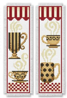 Bookmark Medley. A whole book of cross stitch book marks! Click the photo to find the eBook (download it for $5.99) - Leisure Arts