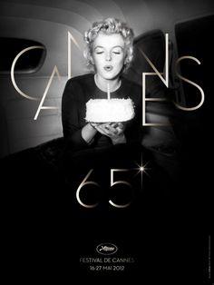 Affiche du 65eme festival de Cannes photo by Otto L. Bettmann