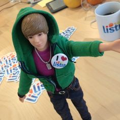 Justin Bieber Singing Doll!!! - One Less Lonely Girl