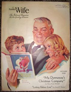 Vintage magazine The Farmers Wife December 1938 by DadsOldAds, $11.99