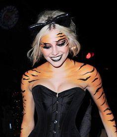 snow tiger makeup | Fantasy & Halloween Airbrush Makeup ...