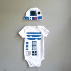 Star Wars Baby Costume - R2D2 Baby Clothes. $38.00, via Etsy.