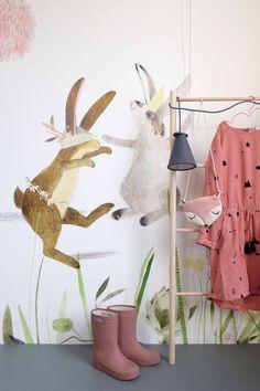 Eijffinger behang konijn