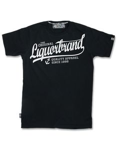 Liquor Brand Herren DAPPER T-Shirt.Tattoo,Biker,Oldschool,Custom Clothing Style