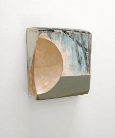 At Sea,  mixed media on birch & alder,