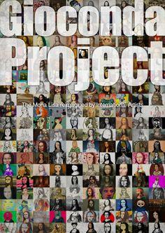 Gioconda Project • Exhibition Cultural Center Azuqueca, Spain  --  Digital book cover – Portada libro digital