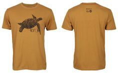 RVCA Sea Turtle Shirt - Wheat at http://www.fighterstyle.com/rvca-shirt-collection-summer-2013-part-1/