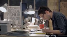 The Best, and Worst, of the Super Bowl XLIX Ads: GoDaddy: Working – Rating: F