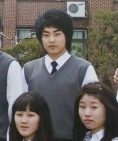 that was some hair Xuimin A.A Marshmallow had! Luhan, Kim Minseok Exo, Exo Ot12, Chanbaek, K Pop, Exo Album, Exo Lockscreen, Xiuchen, Korean Boy