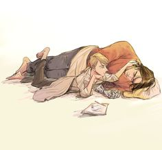 my heart. bucky is so much bigger now than pre-serum Steve would ever kno.