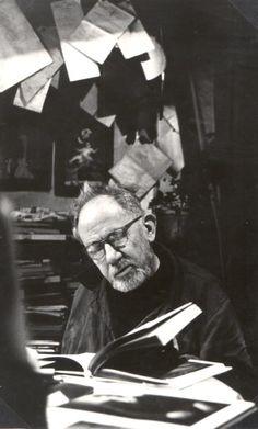 Photo Detail | Alena Sourkova - Josef Sudek in his Studio, 1970
