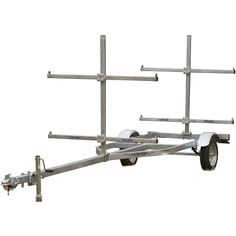 HF 4x8 reconfigured to become a much stronger 4x4 trailer