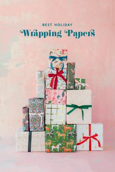 Christmas Wrapping Round Up Christmas Paper, Christmas Wrapping, Christmas 2017, Holiday Icon, Creative Gift Wrapping, Scandinavian Christmas, Holiday Activities, Merry And Bright, Wrapping Papers