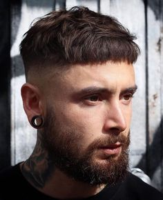 56 Cool Disconnected Undercut Hairstyles For Men // Mens Hairstyles With Beard, Undercut Hairstyles, Hair And Beard Styles, Haircuts For Men, Cool Hairstyles, Hair Style Men, Men's Haircuts, Popular Hairstyles, Crop Haircut