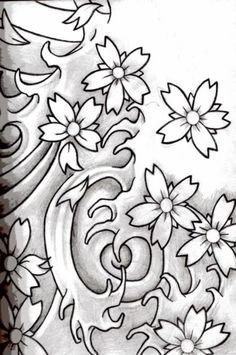 Fleur De Lotus Fleur De Lys Fleurs De Cerisier Fleurs De Tiaré Tattoo ...