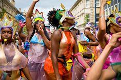 Leeds carnival UK Leeds City, Caribbean Culture, Caribbean Carnival, Afro, Dancing, Celebration, Party, People, Image