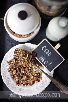 Feed Me Better: Domowa granola (musli).