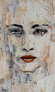 Ideas Painting Oil Abstract Portrait For 2019 - Kunst Portrait Acrylic, Portrait Art, Portrait Paintings, Art Paintings, Portrait Ideas, Acrylic Paintings, Oil Painting Abstract, Painting & Drawing, Mouth Painting