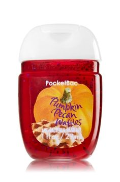 PocketBac Sanitizing Hand Gel Pumpkin Pecan Waffles from Bath & Body Works. Bath N Body Works, Bath And Body Works Perfume, Body Wash, Perfume Collection, Body Spray, Smell Good, Hand Sanitizer, Body Lotion, It Works