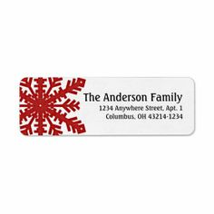 @@@Karri Best price          	Red Snowflake :: Return Address Labels           	Red Snowflake :: Return Address Labels We have the best promotion for you and if you are interested in the related item or need more information reviews from the x customer who are own of them before please follow the link...Cleck Hot Deals >>> http://www.zazzle.com/red_snowflake_return_address_labels-106230965077348637?rf=238627982471231924&zbar=1&tc=terrest