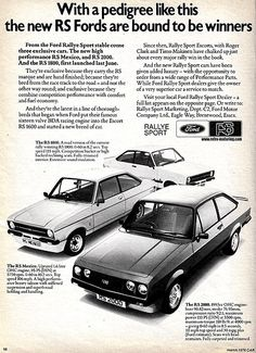 Archive: 1971 Ford Pinto - At The Beginning, Good Intentions. Ford Rs, Car Ford, Gp F1, Ford Pinto, Vintage Cars, Vintage Auto, Retro Cars, Ford Classic Cars, Classic Motors