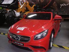 Masina electrica Copii Mercedes S63 New 2018 – Anunturi Muntenia