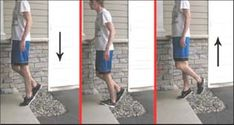 Exercise 1: The straight-knee eccentric heel drop.