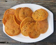 Red Lentil Crackers