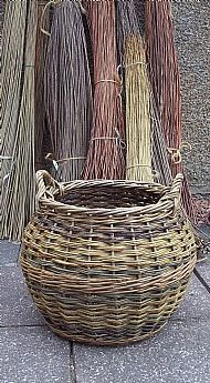 John Cowan's traditional baskets are handmade by John using environmentally-friendly Scottish and English-grown willow. John reproduces old basket designs that were once commonplace in agriculture and the fishing industry, but now can be used domestically as sturdy log baskets or attractive storage baskets. Besides making traditional basket designs, John welcomes commissions of made-to-measure pieces.