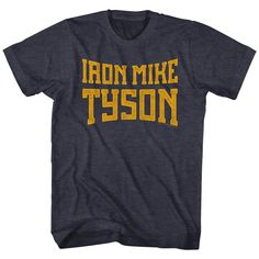 """Checkout our #LicensedGear products FREE SHIPPING + 10% OFF Coupon Code """"Official"""" Mike Tyson T-Shirt - Mike Tyson - T-shirt - Price: $24.99. Buy now at https://officiallylicensedgear.com/mike-tyson-t-shirt-mty514"""