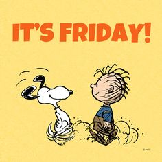 Happy Friday from Snoopy & PigPen