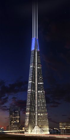 Hmmm. But this is basically the Shard.   Russia Tower. Moscow, Norman Foster