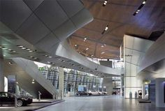 car gallery BMW Event and Delivery Center interior