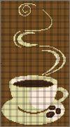 75 кофейных схем. Вышивка крестом, схемы.. Обсуждение на LiveInternet - Российский Сервис Онлайн-Дневников