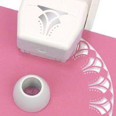Circle Edge Punch Cartridge, Flower Arches