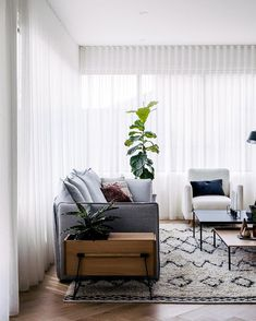 Love the simplicity! The beautiful home of for Entire home tour in the latest issue Latest Issue, Sheer Curtains, Being Ugly, House Tours, Beautiful Homes, Style, House Of Beauty, Swag, Voile Curtains