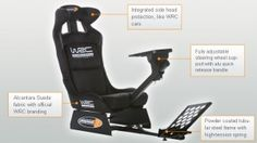 PQube Announce WRC 3 Demo Competition to Win a WRC Carseat