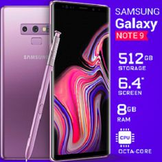 Samsung Galaxy Note 9 Price In Pakistan & Full Phone Specifications;