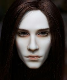 Thomas resin bjd head by stinesculpture on Etsy