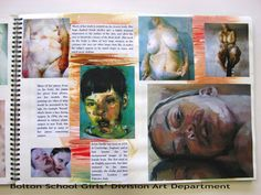 jenny saville sketchbook - Google Search