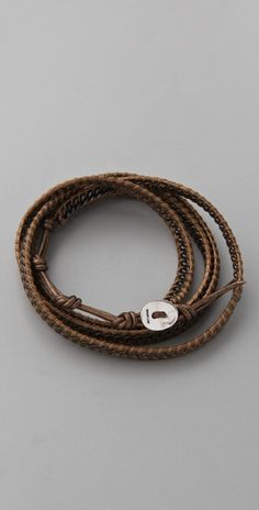 Chan Luu Chain Wrap Bracelet, $150.00  #ChanLuu