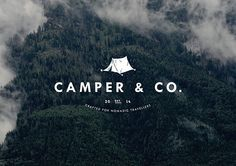 Camper & Co on Behance | Art Direction | Branding | Photography | Typogrqphy | Tipografia | Landscape |