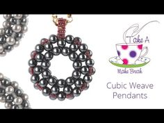 Make your own pretty beaded pendants with this detailed cubic weave tutorial. This lovely design is really easy to personalise and embellish with seed beads!...
