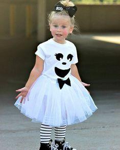 Inspiration & Accessoires: Geist Gespenst Kostüm für Kinder selber machen zu Karneval, Halloween & Fasching