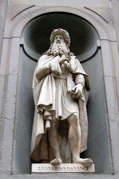 Leonardo da Vinci sculpture ,  Uffizi Photo by feray umut — National Geographic Your Shot